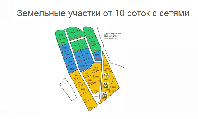 """КП """"Лесная лагуна"""" генплан №1"""