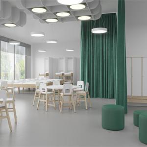 В ЖК «Белые ночи» появится образовательный центр с амфитеатром-трансформером