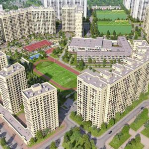 ГК «Инград» приступила к монтажу средних этажей жилых домов 18, 22, 22А в «Новом Медведково»